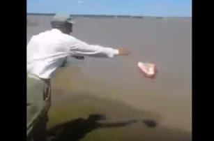 Покормил рыбок, а потом к психологу на прием