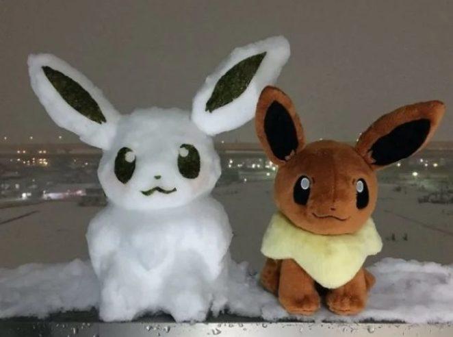 Японские снеговики покоряют Сеть