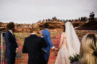 Жених и невеста заставили гостей понервничать: свадьба на грани инфаркта
