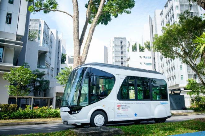 Будущее наступило: общественный транспорт, который заряжается всего за 20 секунд (видео)