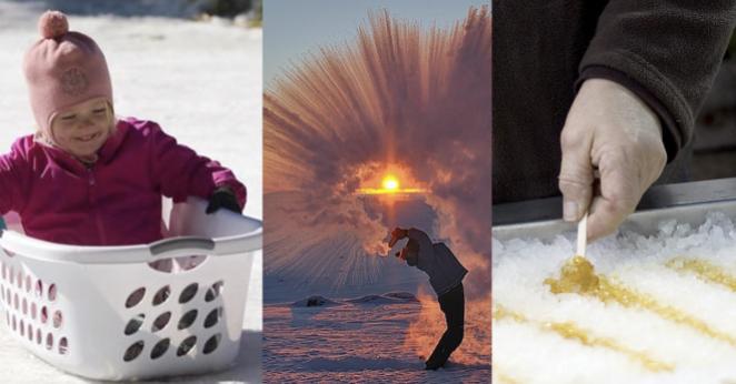Чем можно заняться в сильные морозы?