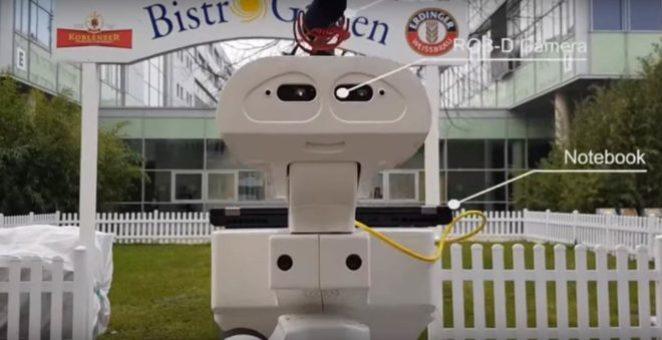 «Сгоняй за пивком!»: немецкие инженеры научили робота приносить пиво из холодильника