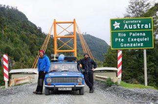 Два чеха совершили кругосветное путешествие на 42-летней «копейке»