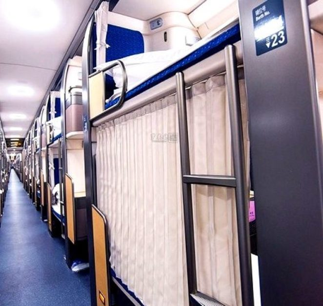 О таких плацкартах нам только мечтать: в Китае запустили идеальный поезд
