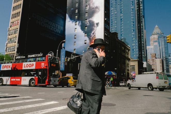 Необычное признание в любви Нью-Йорку: крутая подборка фотографий-совпадений