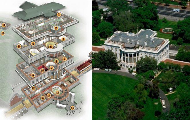 Белый дом от тренажерки до солнечной комнаты: где живут и работают президенты США