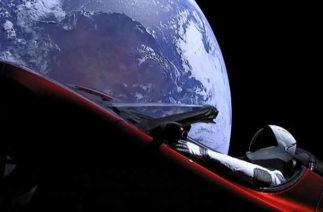Space X запустила в космос самую тяжёлую ракету Falcon Heavy с Tesla на борту (видео)