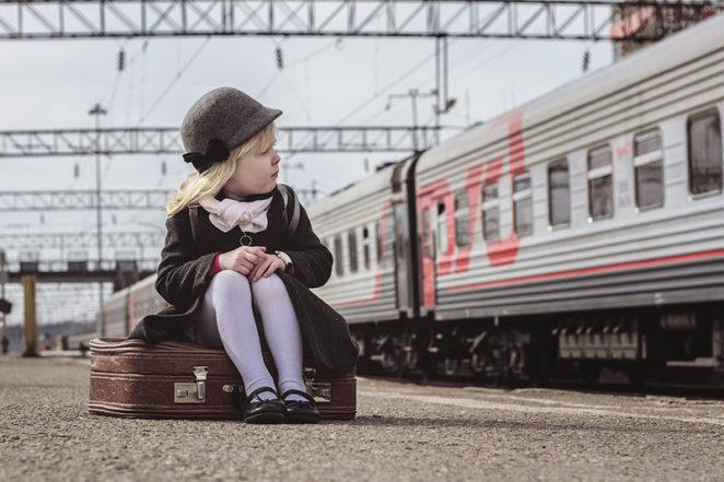 Девочка в Нью-Йорке каждое утро махала машинистам метро. 14 февраля поезд остановился ради нее!