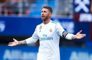Капитан мадридского «Реала» во время матча ушёл на пять минут в туалет