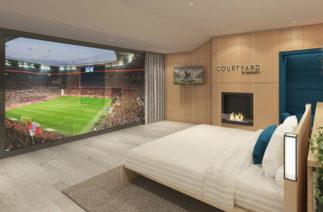 В Мюнхене появится гостиничный номер с видом на футбольное поле
