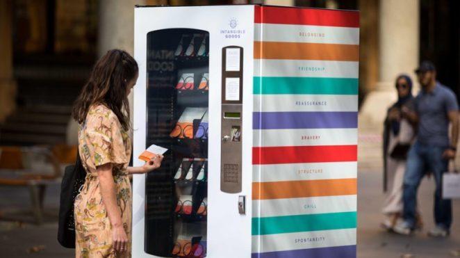 В Австралии появился торговый автомат, где можно купить храбрость, дружбу и уверенность