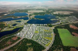 Бабкок-ранч во Флориде — первый американский город, полностью обеспеченный солнечной энергией