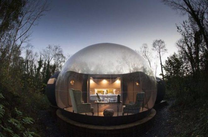 Прозрачные дома-«пузыри»