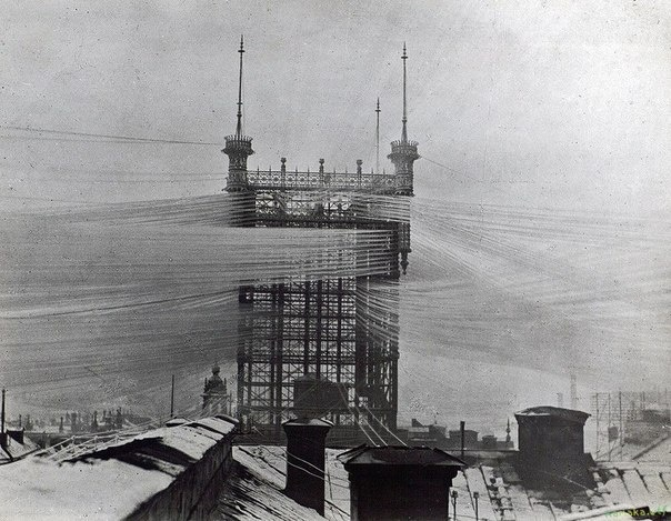 обслуживающая 5000 линий, в 1890-м году